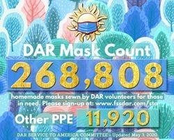 May 3rd - 268,808 Masks Made