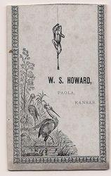 W. S. Howard, photographer of Paola, KS