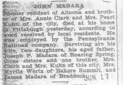 Madara, John 1930