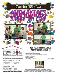 SPHS: Animaniacs Summer Day Camp