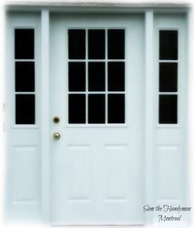 Exterior door complete make over