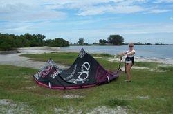 Betsy - Kiss The Sky Kiteboarding kitesurfing