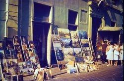454 Finale Ligure street market Italian Riviera