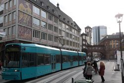 Flexity #263, with the Altes Rathaus