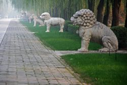 Sacred Way of Ming Tombs in Beijing