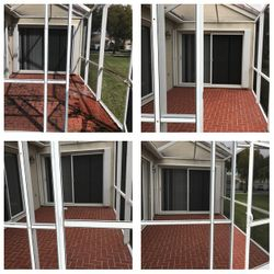 Patio and Screen Pressure Ceaning