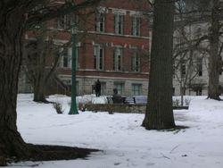 Statue of Herman G. Wells, Beloved IU President