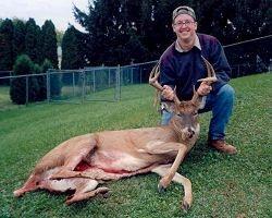 Brad Snyder's 9 Point Buck