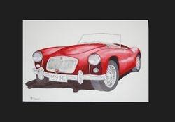1959 MGA     I/D 201B