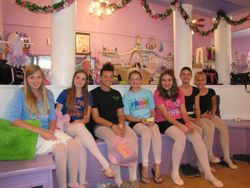 Summer 2012 Pointe Shoe Party