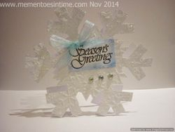 Snowflake Card Number One