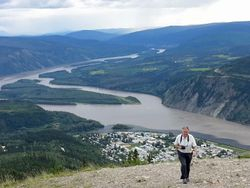 Dawson City from Top of the Dome