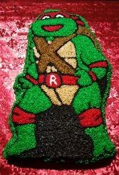Ninja Turtle Cake - Rafael