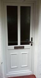 PVC-u Double Glazed Front Door