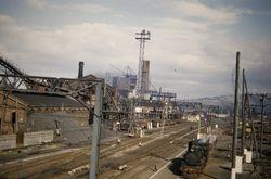Christchurch Gasworks 1955