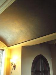 Barrel Ceiling Finish - Quarry House