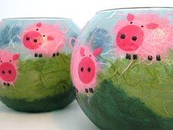 6inch Piggies Bubble Balls