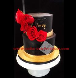 Forty Birthday Cake