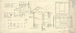 "Samuel Maclure -- January 1922 Blueprints of ""Alterations & additions to bungalow for E.G. Beaumont Esq., Discovery Island, B.C."""