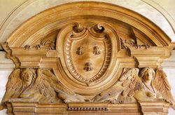Barberini Coat of Arms with Bees, Barberini Palace, Rome