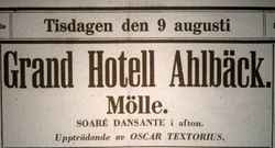 Grand Hotell Ahlbeck 1927