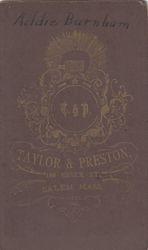 Taylor & Preston of Salem, MA - back
