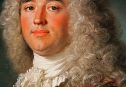 Largilliere, Portrait of the Count ee Hergh, detail, Mt. Holyoke College Museum
