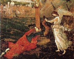 Botticelli, Mystic Crucifixion. c., 1500, Harvard Art Museums