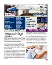 AIMS DIAGNOSTIC   (The Society Page en Espanol)