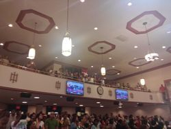 Whether balcony or main floor the worship was amazing!