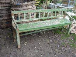 #16/006 Wooden Garden Bench SOLD