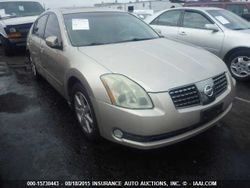 2004 NISSAN MAXIMA 3.5L V6 FWD 5 SPEED GOLD