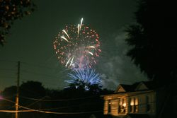 Home town Fireworks 6