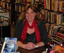 Book signing at Black River Used Books, Feb 2011