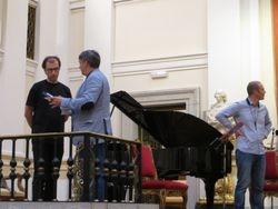 Rehearsals in Madrid October 2014