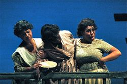 """As Annie in """"Porgy and Bess"""""""
