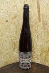 Prieskarinis Selako polituros butelis. Kaina 31 Eur.