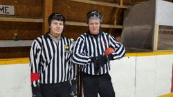 The officials Nathan & Doug.
