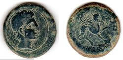 27BC-14AD Augustus, Celtic Spain AE As