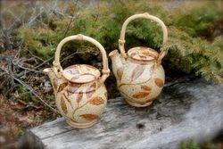 """In the Woods"" Teapots ~ Enjoy!"