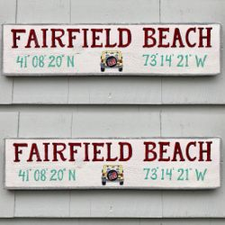 Beach Sign w/ JEEP