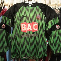 Ludek Miklosko 1991-92 home goalkeepers shirt.