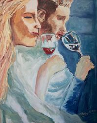 Zwei Weinzähne