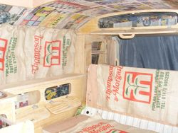 VW T2 Mild Rat Interior