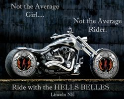 Ride with Hells Belles!