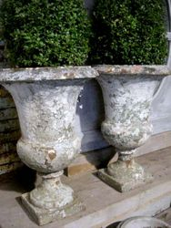 #14/030 Pair of 19 Century Garden Urns SOLD