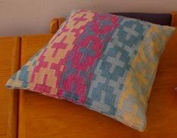 Ripsmatta cushion