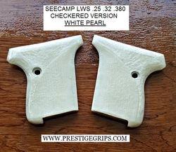 SEECAMP LWS Checkered White Pearl