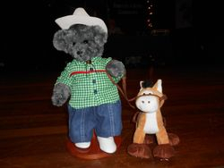 Marie R's little cowboy