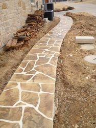flagstone or concrete?